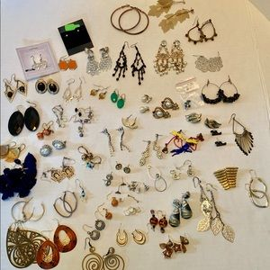 61 Pairs of Assorted Earrings